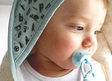 Baby bath cape