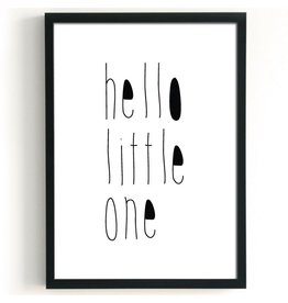 Studio82 A3 poster Hello Little One