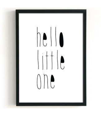 A3 poster Hello Little One