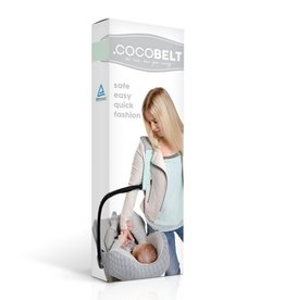 Cocobelt Mint car seat strap