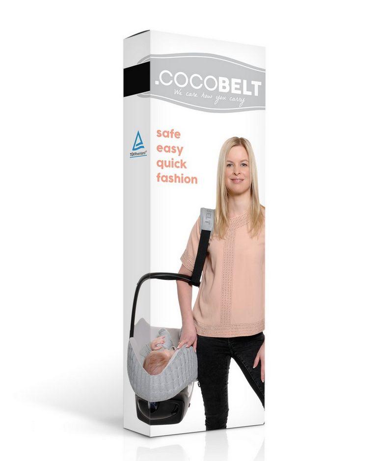 Cocobelt Zwart draagriem autostoeltje - gratis verzending