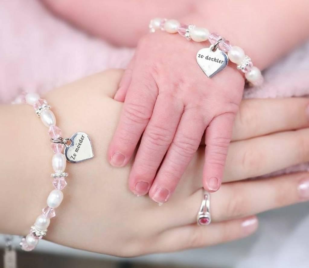 Kaya Sieraden 3 generation bracelets 'personal message' -choose your model (free shipping)