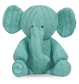 Jollein knuffel Cable Elephant Jade