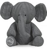 Jollein Cable knit hug Elephant Gray