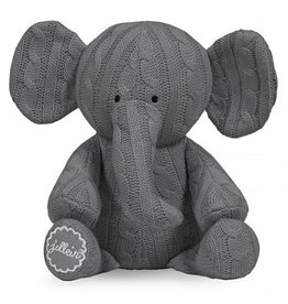 Jollein knuffel Cable Elephant Grijs