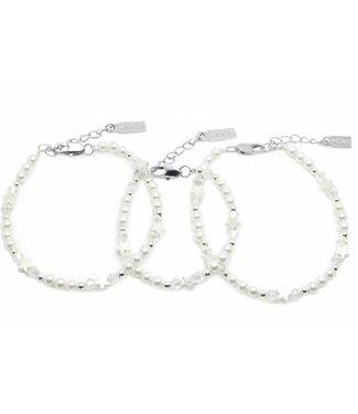 Kaya Sieraden 3 generation bracelets 'Shine Bright' -Free Shipping