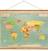 Rexinter world map Vintage World 100cm