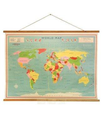 Rex London world map Vintage World