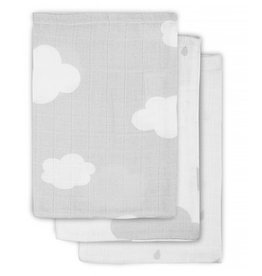 Jollein Hydrophilic washcloth Grey Clouds