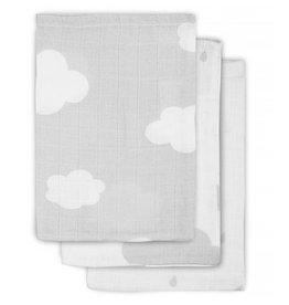 Jollein Hydrophilic washcloth Grey Clouds