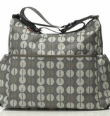 Babymel Big diaper bag Slouchy Multi Dot Taupe (free shipping)