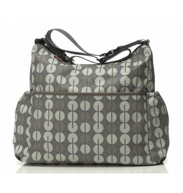Babymel Big diaper bag Slouchy Multi Dot Taupe