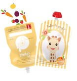 Squiz refillable squeeze pouches Sophie (set of 3 pieces) - Free Shipping