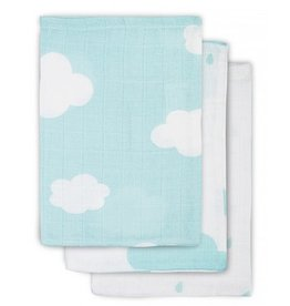 Jollein Hydrophilic washcloth Clouds Jade