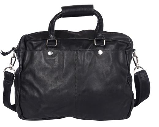 Cowboysbag schoudertas Washington Zwart (gratis verzending)