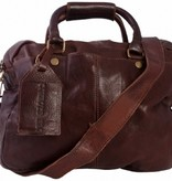 Cowboysbag schoudertas Washington Bruin (gratis verzending)