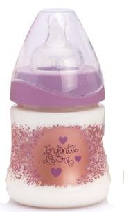 Suavinex bottle Haute Couture Infinity Love +0m 150ml
