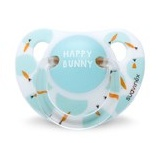 Suavinex soother Anatomical Happy Bunny mint/wit 0-6 months