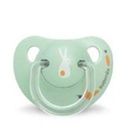 Suavinex fopspeen Anatomical Green Bunny 0-6 maanden