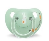 Suavinex soother Anatomical Green Bunny 0-6 months