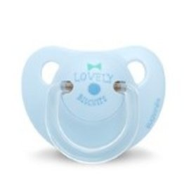 Suavinex soother Anatomical Lovely Biscuits Blue 0-6 months