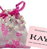 Kaya Sieraden Two bracelets 'Infinity Pink' big sister and little sister