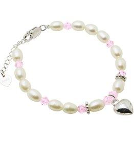 Kaya Sieraden Little Diva SILVER bracelet with heart