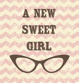 Studio Inktvis A new greeting card Sweet Girl