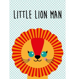 Studio Inktvis Greeting Little Lion Man