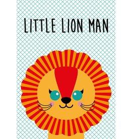 Studio Inktvis Greeting Little Lion Man