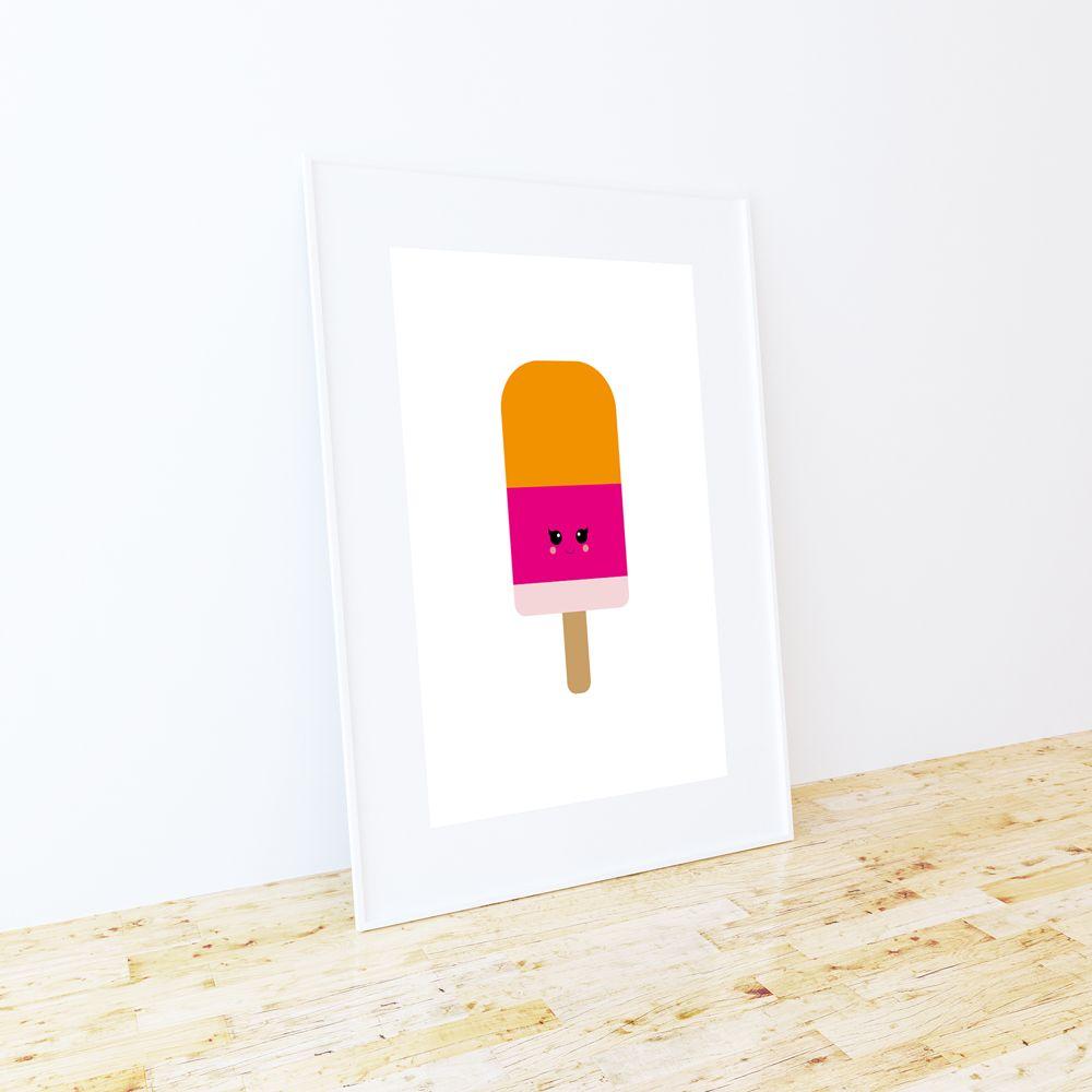 Studio Inktvis poster A3 ijsje