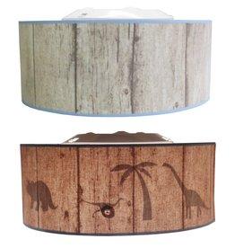 Juul Design ceiling lamp Silhouette Dinosaurs