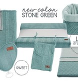 Baby's Only boxkleed Classic Stone Green 85 x 100 cm