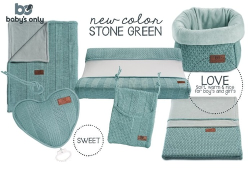 Baby's Only playpen Stone Classic Green 85 x 100 cm