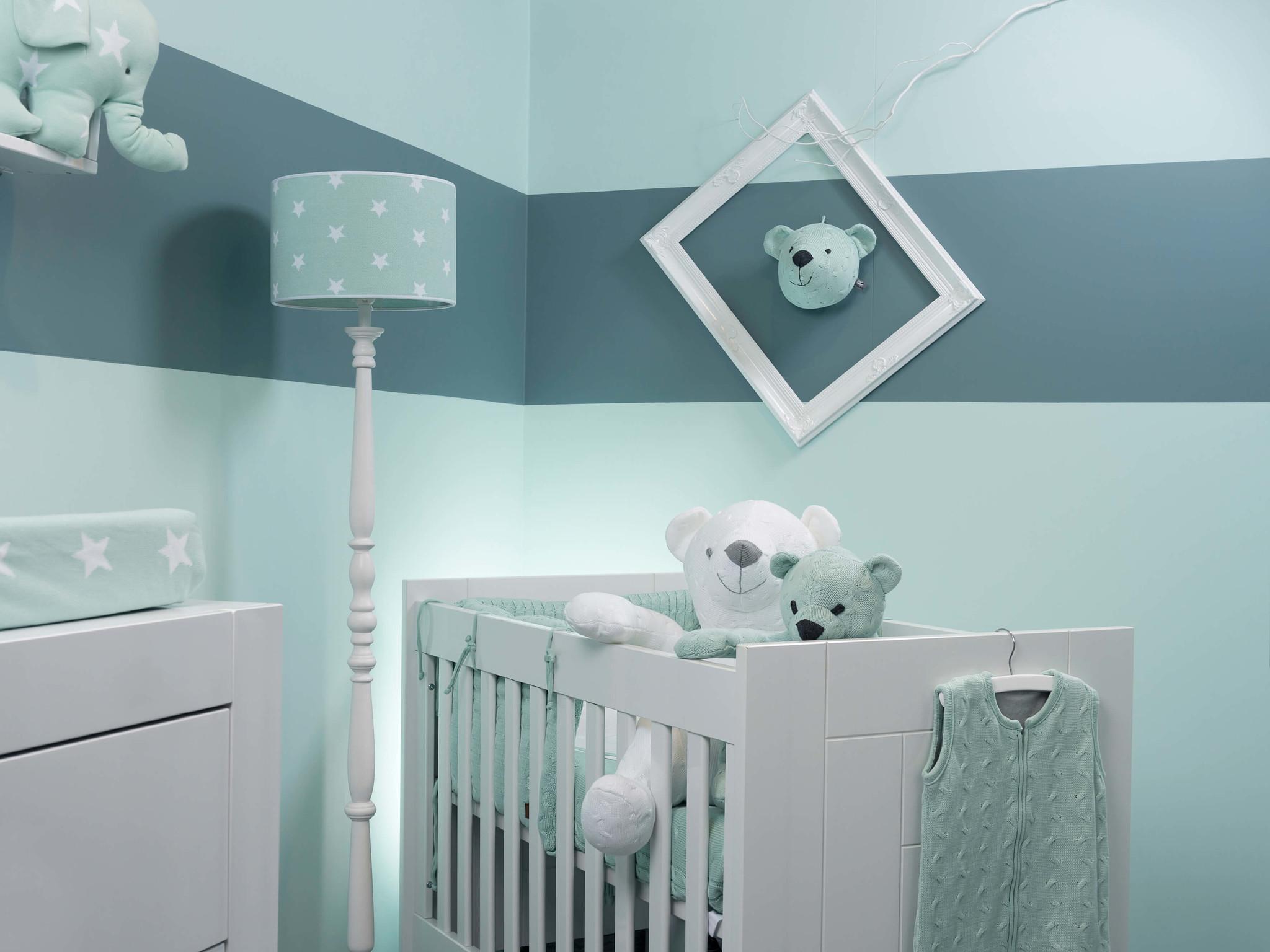 Baby's Only Stone green babykamer