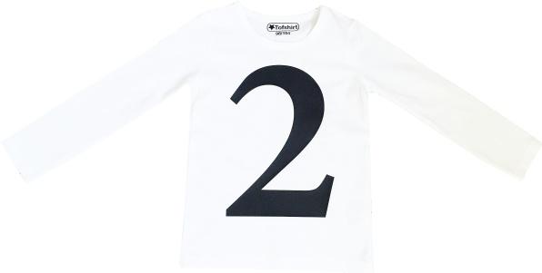Tofshirt longsleeve plain number 2