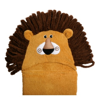 Zoocchini bathcape Leo the Lion 2+ years