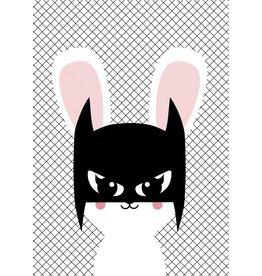 Studio Inktvis greeting Batbunny