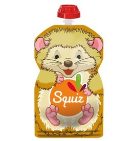 Squiz refillable squeeze bag Hedgehog