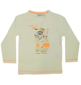 Dirkje longsleeve So Fresh Bright Coral