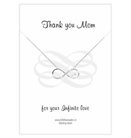 Kaya Sieraden Greeting Card 'Thank you Mom'
