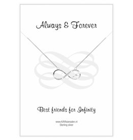 Kaya Sieraden Greeting Card 'Always & Forever Friends'