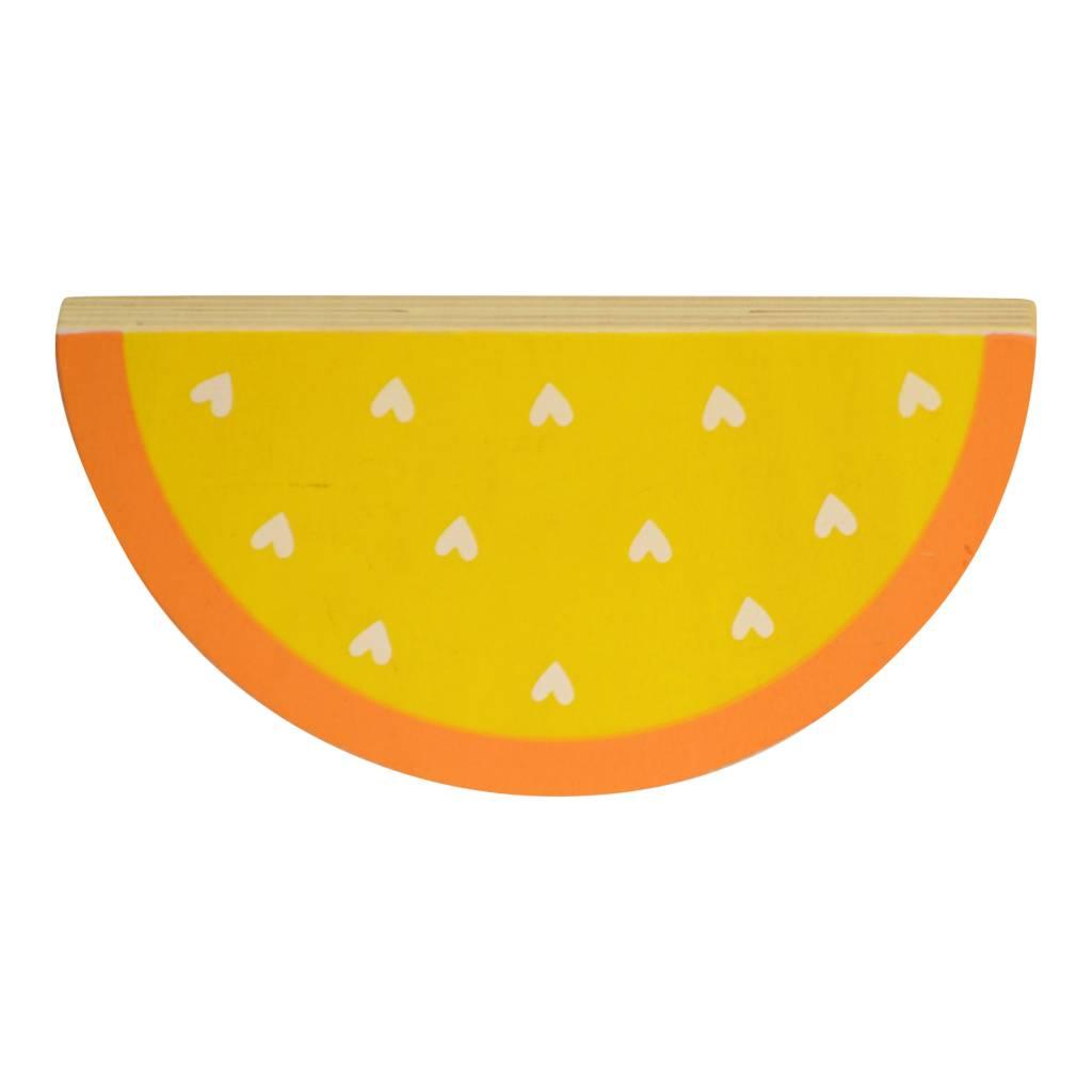 A Little Lovely Company muurhaakjes watermeloen set van 2