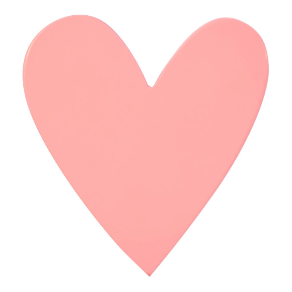 A Little Lovely Company wall brackets hearts Pastel Set of 2