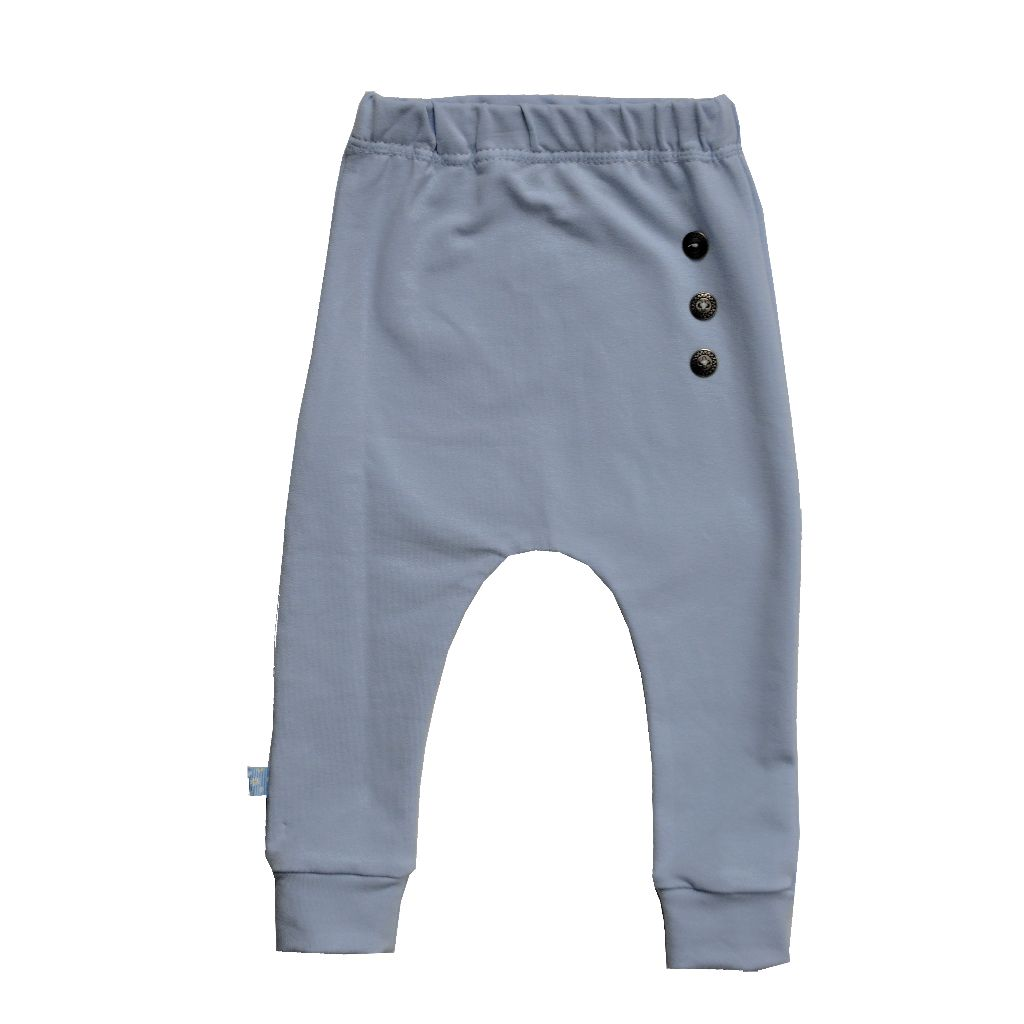Damara Kids harem pants solid blue