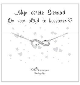 Kaya Sieraden Gift Box Silver bracelet 'Merry Christmas' - Copy - Copy