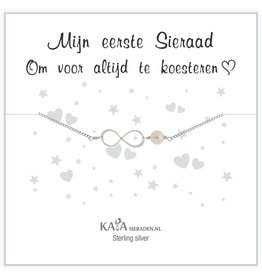 Kaya Sieraden Gift Box Silver bracelet 'Merry Christmas' - Copy - Copy - Copy