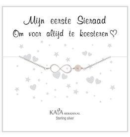 Kaya Sieraden Kadodoosje .925 zilveren armband 'Mijn eerste Sieraad'