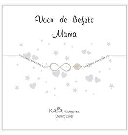 Kaya Sieraden Kadodoosje .925 zilveren armband 'Voor de Liefste Mama'