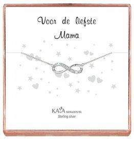 Kaya Sieraden Cadeaudoosje Infinity 'Voor de Liefste Mama'
